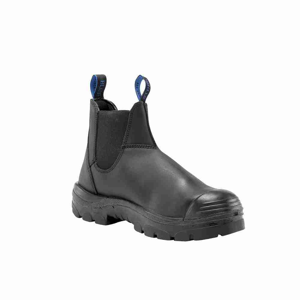 23c338fafea Steel Blue Hobart Nitrile Safety Boot w/Bump and PR Sole - 382101 ...